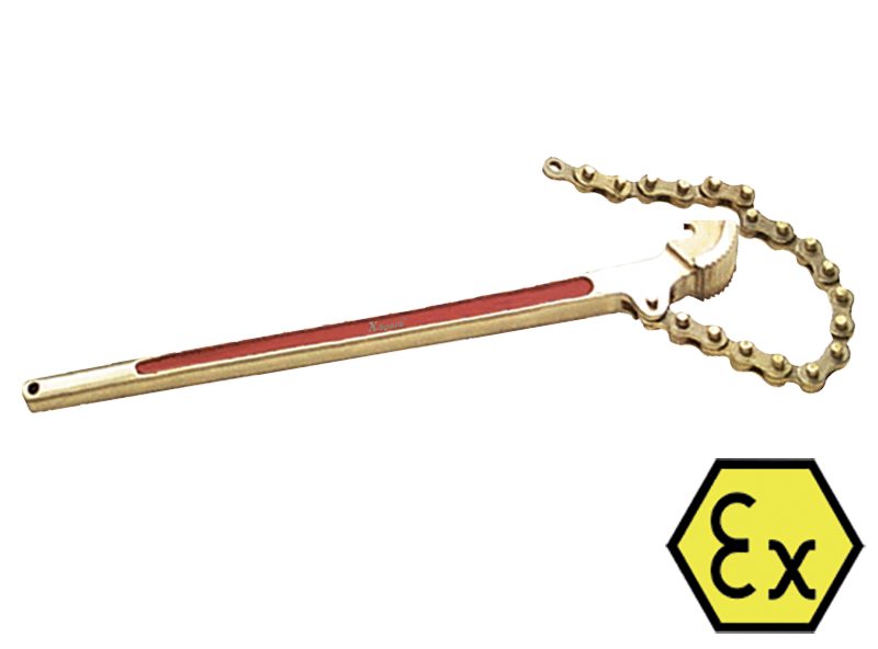Универсальный ключ из цепи и профиля своими руками 35